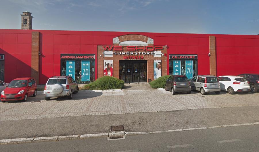 we-shop store di gallarate