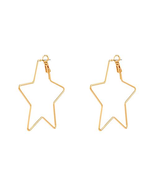 orecchini a forma di stella gioielli abbigliamento we-shop