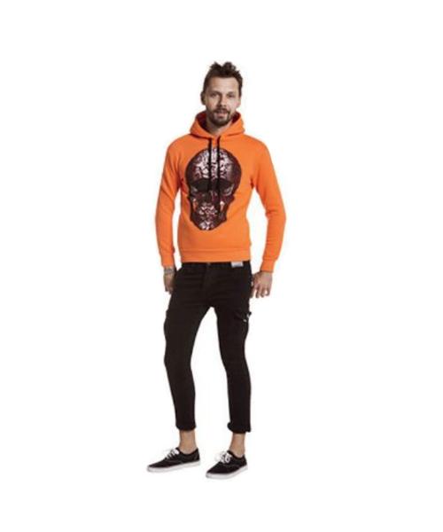 felpa stampata e pantaloni in cargo abbigliamento uomo we-shop