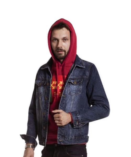 giubbino di jeans abbigliamento uomo we-shop