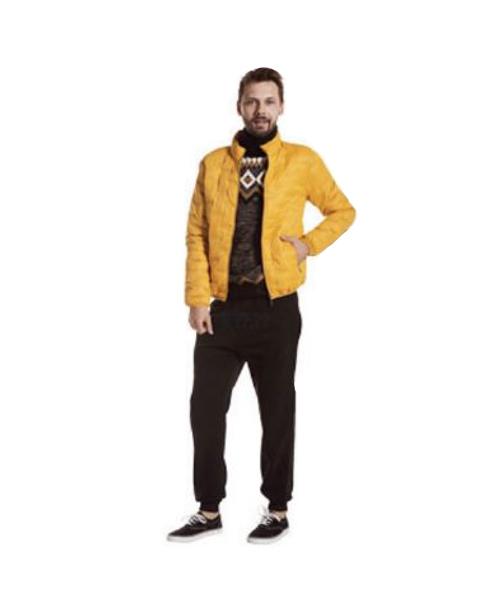 giubbetto imbottito e pantaloni sportivi abbigliamento uomo we-shop