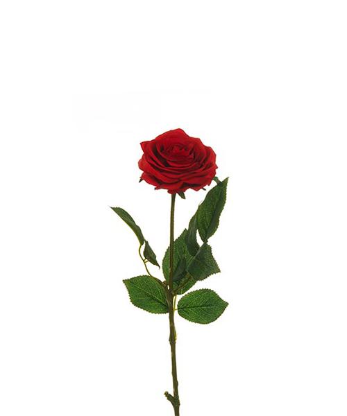 rosa rossa fiori finti accessori casa we-shop