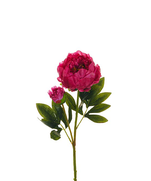 peonia con bocciolo fiori finti accessori casa we-shop