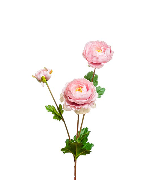 ranuncolo ramificato fiori finti accessori casa we-shop