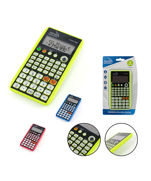 calcolatrice scientifica pryma articoli cartoleria we-shop