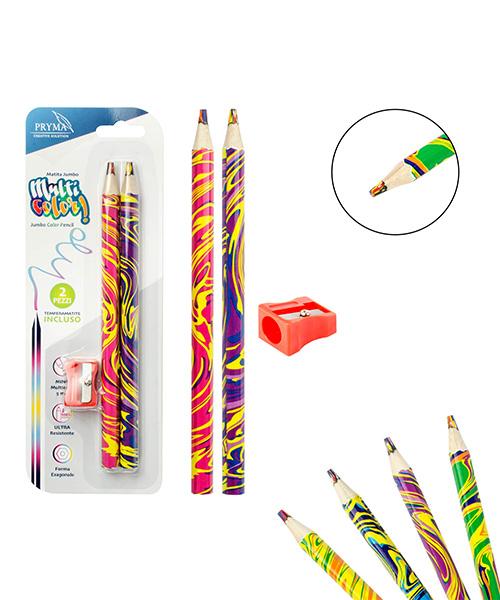 matite jumbo multicolor articoli cartoleria we-shop