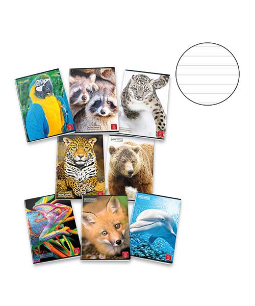 quaderno con animali articoli cartoleria we-shop