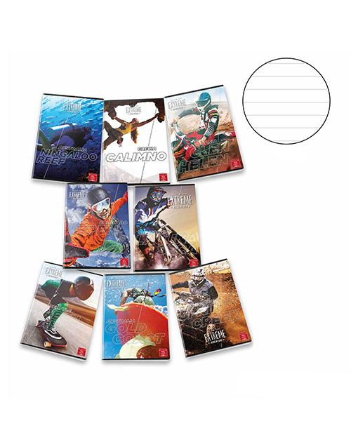 quaderno extreme articoli cartoleria we-shop