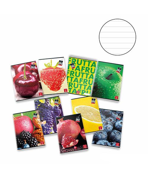 quaderno con frutta articoli cartoleria we-shop