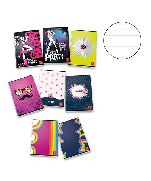 quaderno a righe ragazza articoli cartoleria we-shop