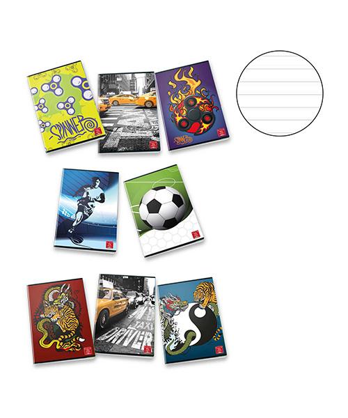 quaderno a righe ragazzo articoli cartoleria we-shop