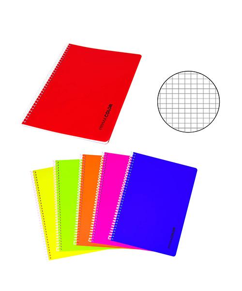 quaderno a spirale a quadretti articoli cartoleria we-shop