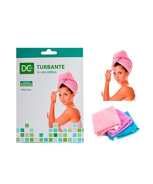 turbante in microfibra accessori bagno we-shop