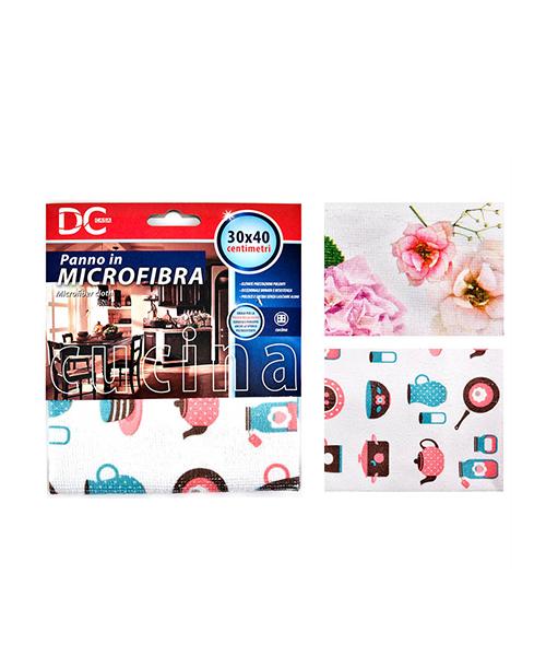 panno in microfibra stampato accessori casalinghi we-shop