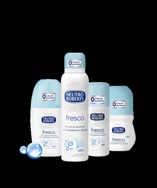 deodoranti per la cura della persona we-shop