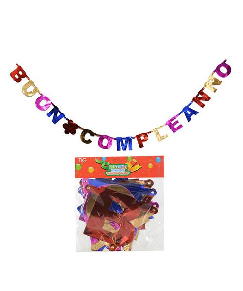 festoni buon compleanno decorazioni per feste we-shop