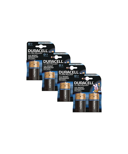 pile duracell ultra power d elettronica we-shop