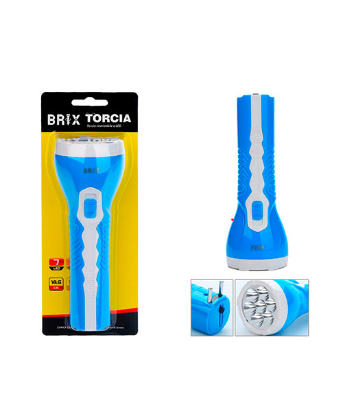 torcia 7 led elettronica we-shop