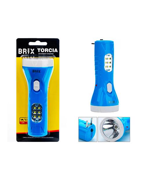 torcia led doppia funzione elettronica we-shop