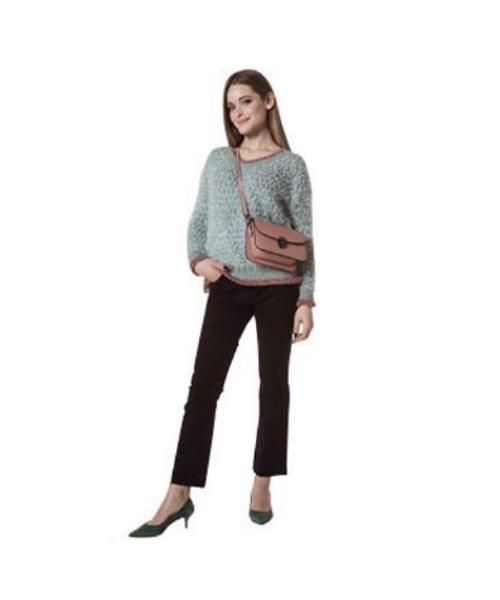 maglia lurex pantaloni svasati abbigliamento we-shop