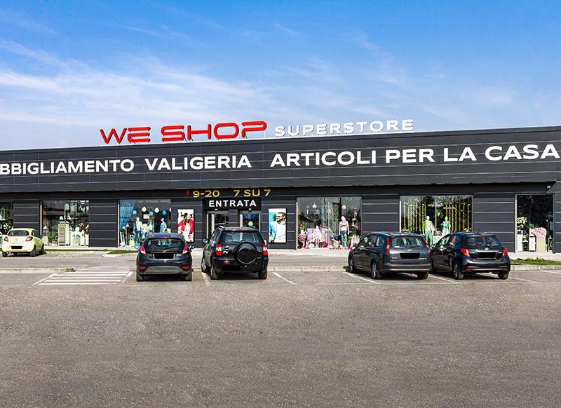 We Shop - Negozio a Pieve Fissiraga